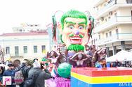 Πατρινό Καρναβάλι 2014 - Άρματα Κυριακή 02-03-14