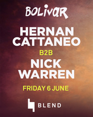 Hernan Cattaneo with Nick Warren @ Bolivar Beach Bar