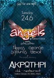 Angels Party @ Ακρωτήρι