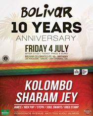 Kolombo & Sharam Jey @ Bolivar