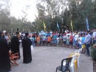 Ναυπακτία: Ο Μητροπολίτης Πατρών στην έναρξη των κατασκηνώσεων της Χριστιανικής Στέγης Πατρών στη Ρίζα (pics)
