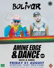 Amine Edge & DANCE @ Bolivar Beach Bar House Party