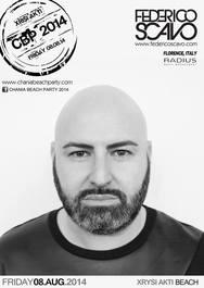 Chania Beach Party 2014 - Ο Federico Scavo μας βάζει στο κλίμα!