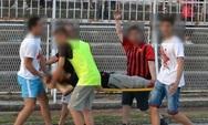 Σκόπια: Οπαδός έχασε το χέρι του στο γήπεδο - Προσοχή, σκληρές εικόνες!