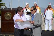 Η Πάτρα υποδέχθηκε την Ολυμπιακή Φλόγα – Δείτε φωτογραφίες από την εκδήλωση στο Μόλο