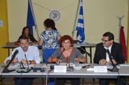 Πάτρα: Η πρώτη ομιλία του Κώστα Πελετίδη - Δείτε φωτογραφίες από το δημοτικό συμβούλιο