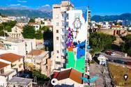 Τα εντυπωσιακά γκράφιτι που στολίζουν την Πάτρα μέσα από την