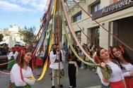«Το Γαϊτανάκι της ζωής» στο κέντρο της Πάτρας - Μια καρναβαλική δράση με παραδοσιακό χρώμα!