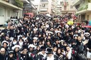 Πάτρα: Η αναμνηστική selfie του πληρώματος 41 στο τέλος της μεγάλης παρέλασης