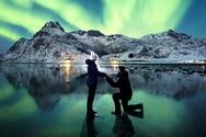 Πρόταση γάμου με φόντο... το Βόρειο Σέλας! (pics)