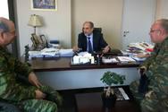 Πάτρα: Συνάντηση του Περιφερειάρχη Απ. Κατσιφάρα με τον νέο Διοικητή του ΚΕΤχ
