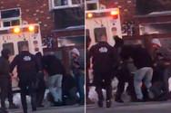 Ασθενοφόρο παρασύρει και σκοτώνει νοσηλεύτρια! (video)