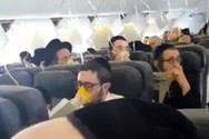 Επιβάτες αεροσκάφους προσεύχονται στη διάρκεια αναγκαστικής προσγείωσης (video)