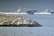 Απίστευτο βίντεο από τα Ίμια - Τουρκικό πλοίο «καταδιώκει» ελληνικό!