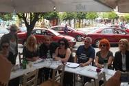 Στην πλατεία της Πάτρας συναντήσαμε αγαπημένους ηθοποιούς που έχουν γράψει