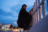 Ο φημισμένος Pierre Marsaut βρέθηκε στην Πάτρα για να φωτογραφίσει τους πρόσφυγες!