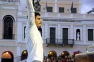 O Πατρινός πρωταθλητής Νίκος Ηλιόπουλος χειροκροτήθηκε από το κοινό στην πλατεία Γεωργίου (pics)