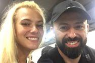 Στο Λουξεμβούργο ο Πατρινός Γιώργος Σταυρόπουλος με την Λάουρα Nάργες! (φωτο)