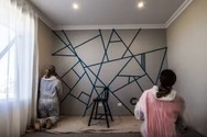 Ένας πρωτότυπος τρόπος για να βάψετε τον τοίχο του σπιτιού σας (video)