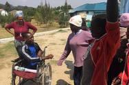 Ο μικρός Jimmy από την Τανζανία που ήρθε στην Πάτρα για να περπατήσει ξανά! (φωτο+video)