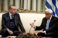 Παυλόπουλος και Ερντογάν διασταύρωσαν τα ξίφη τους μέσα στο Προεδρικό Μέγαρο (video)
