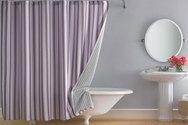 Έξυπνοι τρόποι για να αξιοποιήσετε τη παλιά κουρτίνα του μπάνιου σας