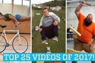 25 από τα κορυφαία βιντεάκια του 2017 (video)