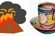 Ηφαιστειακή λάβα, άσπρο τσάι και marketing