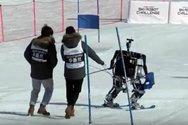 Ρομπότ συναγωνίζονται στο σκι (video)