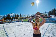 Snow Volley στα Καλάβρυτα: Εκεί και οι Σπηλιωτοπούλου - Καραγκούνη