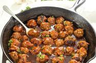 Συνταγή για κεφτεδάκια κοτόπουλου σε BBQ sauce