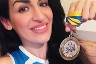 Μετάλλιο στην Βοσνία για την Εβελίνα Μαυρομμάτη της Άμυνας Πατρών!
