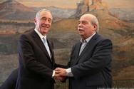 Συνάντηση του Νίκου Βούτση με τον Πρόεδρο της Δημοκρατίας της Πορτογαλίας