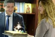 Πάτρα: H έκπληξη στον Γρηγόρη Αλεξόπουλο για τα γενέθλιά του (pics)