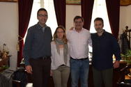 Πάτρα: Eπρόσωποι της Μπαρτσελόνα επισκέφθηκαν το Δημαρχείο