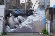 Ξεκίνησε η 3η τοιχογραφία στο Διεθνές Street Art Festival Patras!