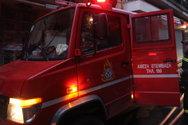 Φωτιά ξέσπασε σε δασική έκταση στην Κύμη (video)
