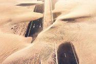 Η έρημος… καταπίνει τους δρόμους στο Ντουμπάι (φωτο)