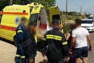 Ηλεία: 19χρονος τραυματίστηκε σοβαρά σε τροχαίο