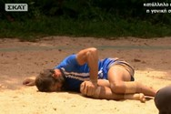Survivor - O σοκαριστικός τραυματισμός του Πάνου Θεοδώρου! (video)