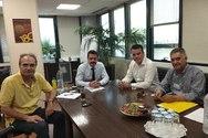 Συνάντηση του Αντιπεριφερειάρχη Ν. Μπαλαμπάνη με στελέχη του ΑΔΜΗΕ