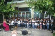 Αχαΐα: Συναυλία στην πλατεία Ακράτας από παιδικά χορωδιακά σύνολα