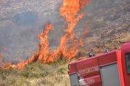 Πολύ υψηλός για σήμερα ο κίνδυνος πυρκαγιάς στην Αχαΐα