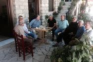 Αχαΐα: Ο Γιώργος Μαυραγάνης ολοκλήρωσε την περιοδεία του στο Δήμο Καλαβρύτων (pics)