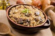 Μαγειρέψτε ριζότο με μανιτάρια