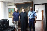 Ο Νεκτάριος Λόης και ο Σωτήριος Δεσπότης επισκέφθηκαν τη Θεολογική Σχολή Βελιγραδίου