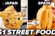 Διάσημα και μη street food που μπορεί να δοκιμάσει κανείς με ένα δολάριο (video)