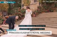 Επική γκάφα του BBC στο γάμο της πριγκίπισσας Ευγενίας (video)