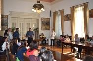 Πάτρα: Μαθητές από διάφορες ευρωπαϊκές χώρες επισκέφθηκαν τον Δήμαρχο (pics)
