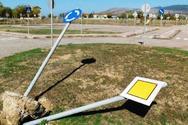 Μεσολόγγι: Eκτεταμένες καταστροφές προκάλεσαν άγνωστοι στο πάρκο κυκλοφοριακής αγωγής
